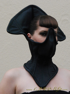 Leather Neck Corset halscorsage Gothic Drag Alien Queen